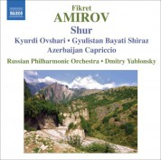 Dmitry Yablonsky: Amirov: Symphonic Mugams - CD