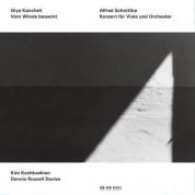 Kim Kashkashian, Dennis Russell Davies: Giya Kancheli: Vom Winde beweint / Alfred Schnittke: Konzert für Viola und Orchester - CD