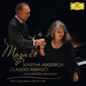 Martha Argerich, Claudio Abbado: Mozart: Piano Concertos K 503 & K 466 - Plak