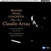 Claudio Arrau, Philharmonia Orchestra, Carlo Maria Giulini: Brahms: Piano Concertos 1&2 - CD