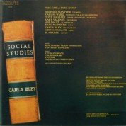 The Carla Bley Band: Social Studies - CD