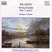 Brahms: String Sextets Nos. 1 and 2 - CD