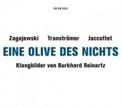 Burkhard Reinartz: Eine Olive des Nichts - CD