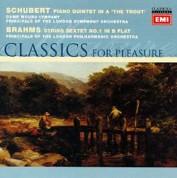 Moura Lympany: Schubert / Brahms: Piano Quintets - CD