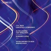 Alexei Lubimov, Yury Martynov, Reinhard Czasch, Haydn Sinfonietta Wien, Manfred Huss: C.P.E. & J.C. Bach: Concertos - CD