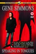 Gene Simmons: Speaking In Tongues - DVD