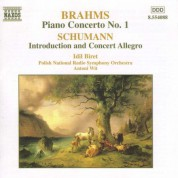 İdil Biret: Brahms: Piano Concerto No. 1 - Schumann: Introduction and Concerto-Allegro - CD