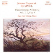 Hae Won Chang: Hummel: Piano Sonatas, Vol. 3 - Nos. 1, 7, 8, 9 - CD