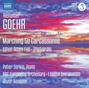 Oliver Knussen: Goehr: Marching to Carcassonne - CD