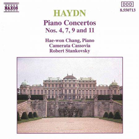 Hae Won Chang: Haydn, F.J.: Piano Concertos - Hob.XVIII:F1, 4, 9, 11 - CD