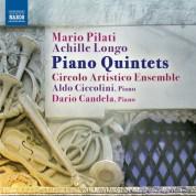 Aldo Ciccolini: Pilati & Longo: Piano Quintets - CD