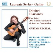 Guitar Recital: Dimitri Illarionov - CD