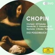 Ivo Pogorelich: Chopin: Sonata No. 2, 24 Préludes, Scherzi - CD
