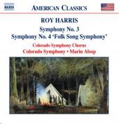 Harris: Symphonies Nos. 3 and 4 - CD