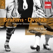 Michel Beroff, Jean-Philippe Collard: Brahms: Hungarian Dances, Slavonic Dances - CD