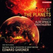 Edward Gardner, National Youth Orchestra of Scotland: Holst, Strauss: The Planets Op.32, Also Sprach Zarathustra - Plak