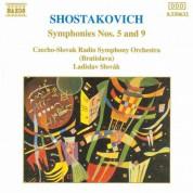 Ladislav Slovák, Symfonický orchester Slovenského rozhlasu: Shostakovich: Symphonies Nos. 5 & 9 - CD