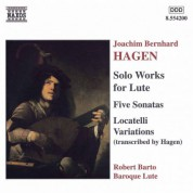 Hagen: Lute Sonatas / Locatelli Variations - CD