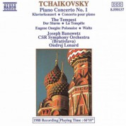 Slovak Radio Symphony Orchestra: Tchaikovsky: Piano Concerto No. 1 / The Tempest - CD