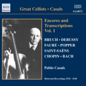 Casals, Pablo: Encores and Transcriptions, Vol. 1 (1925-1928) - CD