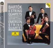 Emerson String Quartet: Bartók: 6 String Quartets - CD