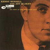 Kenny Burrell: On View at the Five Spot Cafe (45rpm-edition) - Plak