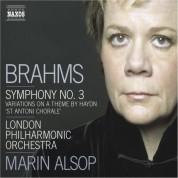 Marin Alsop: Brahms: Symphony No. 3 / Haydn Variations - CD