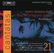 Bach Collegium Japan, Masaaki Suzuki: J.S. Bach: Cantatas, Vol. 21 (BWV 65, 81, 83, 190) - CD
