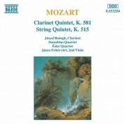 Mozart: Clarinet Quintet, K. 581 / String Quintet, K. 515 - CD