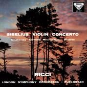 Ruggiero Ricci, London Symphony Orchestra, Øivin Fjeldstad: Sibelius: Violin Concerto / Tchaikovsky: Sérénade mélancolique - Plak