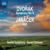 Gerard Schwarz: Dvořák: Symphony No. 6 - Janáček: Idyll - CD