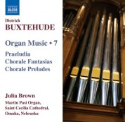 Julia Brown: Buxtehude: Organ Music, Vol. 7 - CD