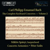 Miklós Spányi, Concerto Armonico, Péter Szűts: C.P.E. Bach: Keyboard Concertos, Vol. 2 - CD