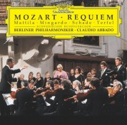 Berliner Philharmoniker, Bryn Terfel, Claudio Abbado, Karita Mattila, Michael Schade, Sara Mingardo, Schwedischer Rundfunkchor: Mozart: Requiem, Laudate Dominum - CD